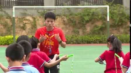 《一带一跳短绳》二年级体育,杜雨峰