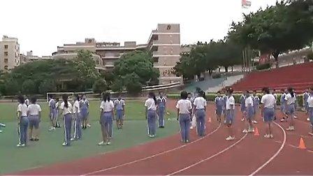 小学六年级体育优质课视频《快乐的小投手、勇敢的小战士》_陈丽云
