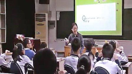 《雪绒花》初中八年级音乐优质课视频-邱思思
