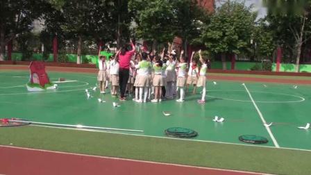 《有趣的单双脚跳》人教版二年级体育,李盼