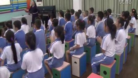 《我们的学校亚克西》教学实录(花城版音乐三上,罗芳小学:张弛)