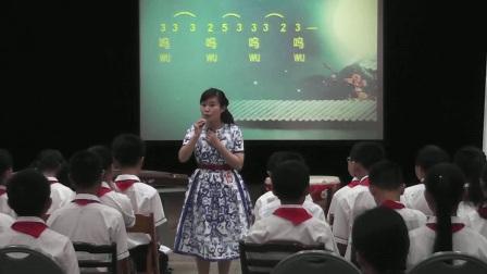 六年级音乐《凉州词》广西中小学优质课及观摩活动-唐雯韬