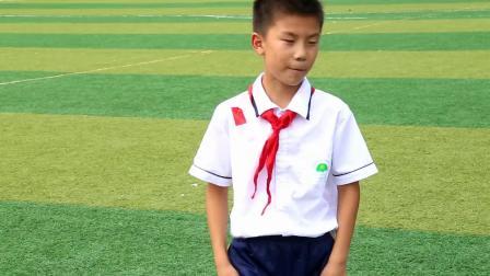 《立定跳远·三级跳》三年级体育,安徽省市级优课
