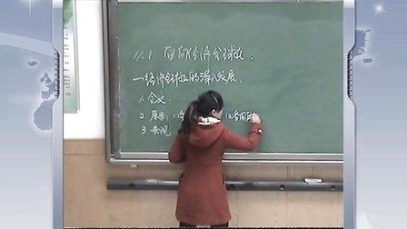 陕西省示范优质课《面对经济全球化2-1》高一政治,周至中学