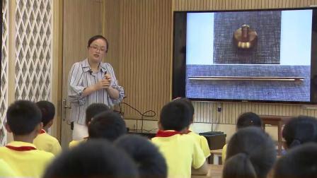 教科版小学科学五下《金属热胀冷缩吗》课堂教学视频实录-周丹凤