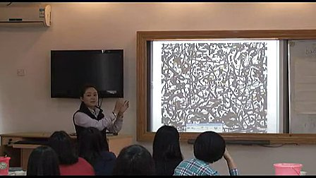 《中国画技法水墨韵味》高二美术教学视频-中加学校刘静