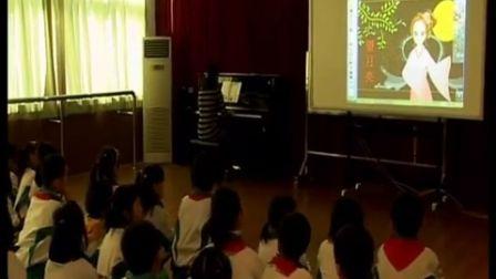 第五届电子白板大赛《望月亮》(人教版音乐二年级,广州市天河区第一实验小学:李灵)
