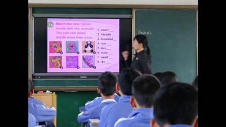 人教版英语九年级Unit 5 Section B(1a-1d)教学视频实录(黎平)