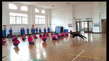 小学体育五年级《山羊分腿腾跃》课堂教学视频实录-徐科成
