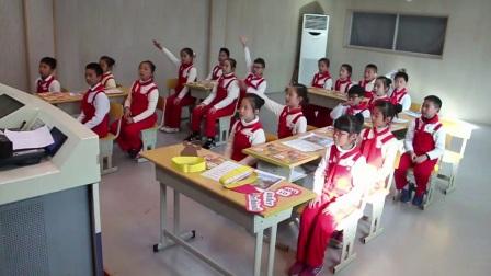 人教版英语三上第四单元PartB《Let's learn&let's do》课堂教学视频实录-许雁