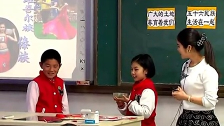 浙教版品德与生活二上《我爱您,祖国-第二课时》课堂教学视频实录-周依林