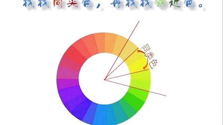 2015优质课视频《找朋友》小学美术岭南版一年级-深圳-安芳小学:杨林