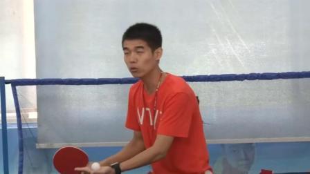 《学习乒乓球平击球技术》科学版体育六年级,赵佳祥