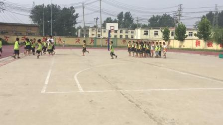 《挑战、迎战》科学版一年级体育,阜阳市县级优课