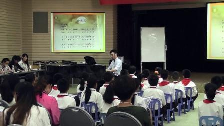 五年级音乐《静夜思》广西中小学优质课及观摩活动-陈彦兵
