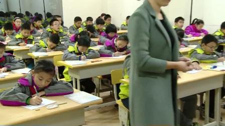 人教版数学五上《组合图形的面积》课堂教学视频实录-裘雅