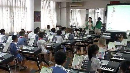 《我们的小乐队》小学二年级音乐优质课视频-张罗嘉