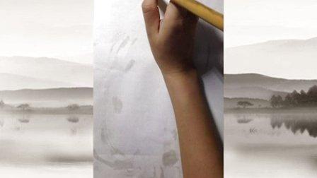 小学三年级美术《水墨画猫》微课视频,深圳第三届微课大赛视频
