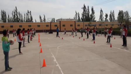 《足球运球》人教版初一体育与健康,把余福