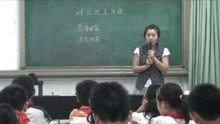 《对立还是沟通》优质课(北师大版品德与社会六上,郑州:李真)