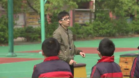 小学体育五年级《支撑跳跃:跳上成蹲撑》课堂教学视频实录-范东旭