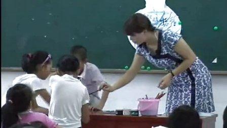 浙美版小学美术四年级《玩转青花》优质课教学视频