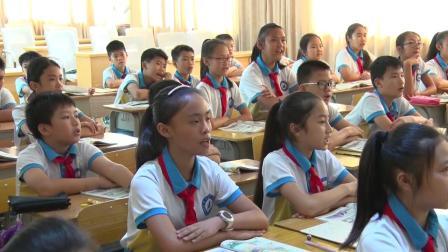 外研版(三起)小学英语五下Module7 Unit 1 She goes to school on Mondays.广西雷玉婷