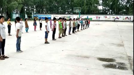 《站立式起跑》三年级体育,安徽亳州