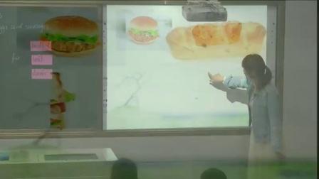 外研版(三起)小学英语五下Module3 Unit 2 Sam ate four hamburgers.河南王利锋