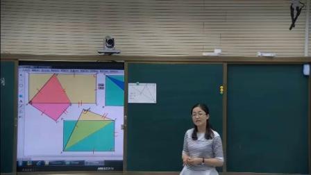 人教2011课标版数学八下-17.1.2《利用勾股定理解决平面几何问题》教学视频实录-王彦娥