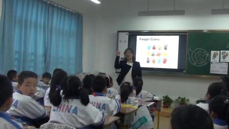 人教精通版英语三下《Unit 2 I'm in Class One,Grade Three Lesson11》课堂教学视频实录-孙伟