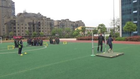 《跨越式跳高》优质课(科学版六年级体育,滁州市县级优课)