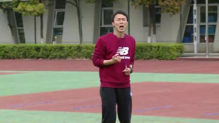 人教版体育五年级《障碍跑与双人跳绳》课堂教学视频实录-尹利兵