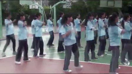 初中八年级体育《健美操与舞蹈——小苹果》教学视频,体育名师工作室教学视频