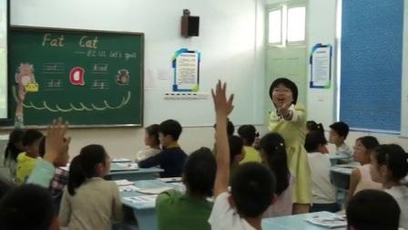 人教版英语三下第一单元《Let's spell》课堂教学视频实录-任洁