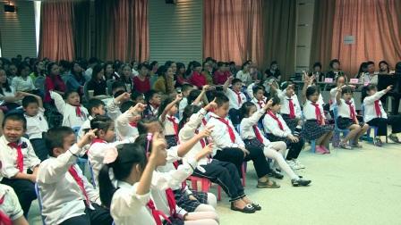 桂教版二年级音乐《排排坐》广西中小学优质课及观摩活动-钟连芬