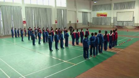 人教版体育五年级《快速跑》课堂教学视频实录-汪良君