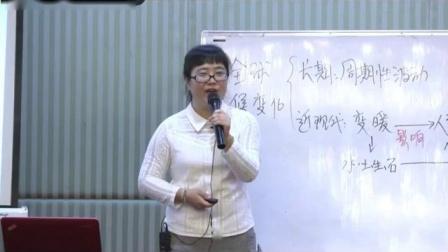 人教版高一地理《全球气候变化》微格教学实录-刘珍