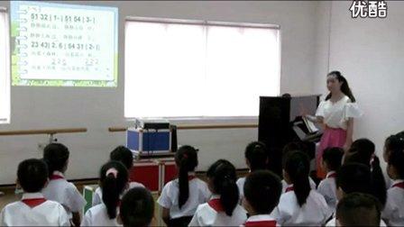 人音版四年级音乐《友谊的回声》优质课教学视频,金燕