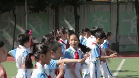 《折返跑》沪少版四年级体育,刘静芝