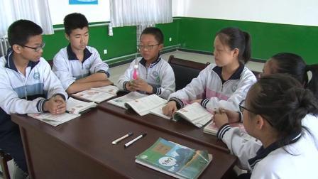 人教2011课标版生物七下-4.3.2《发生在肺内的气体交换》教学视频实录-刘娜新