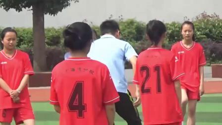 《足球脚内侧运球》人教版初一体育与健康,杨文涛