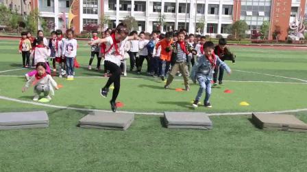 《立定跳远》一年级体育,阜阳市县级优课