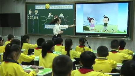 小学英语外研版三下Module6 Unit 2 What does Lingling have at school-福建胡秀芳