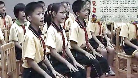 五年级音乐《编花篮》优质课教学视频