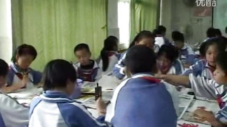 《美丽的荷花》教学课例-岭南版美术六年级,南华小学:谷品