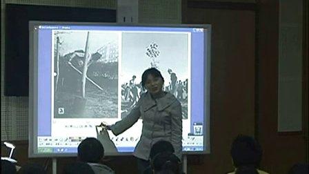 浙美版小学美术五年级《七千棵橡树》优质课教学视频