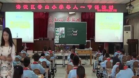 小学美术人美版二下《第1课 美丽的植物》北京李晓芳