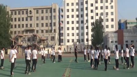 《足球球性与球感》人教版初一体育与健康,赵晓冬