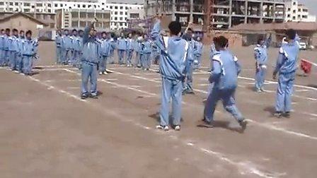 初二体育教学视频《接力跑》体育名师工作室教学视频